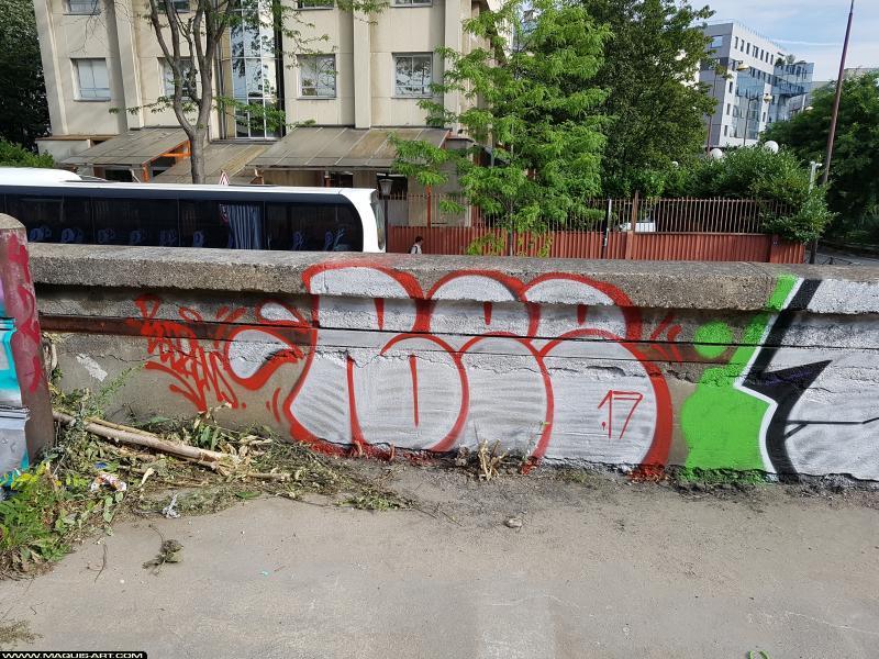 Photo de MICHAEL BEERENS, réalisée au Maquis-art Wall of fame - L'aérosol, Paris