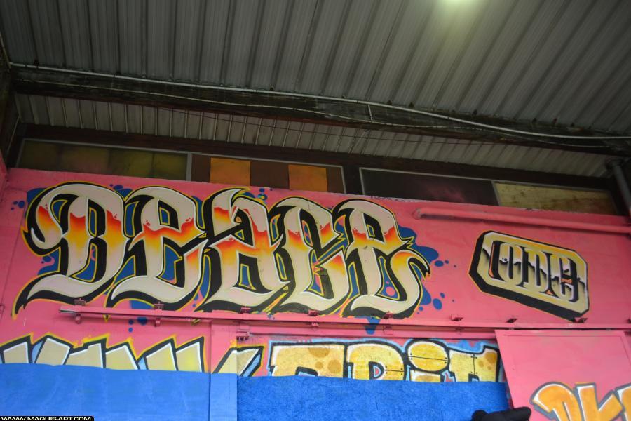 Photo de DEACE, ODV, réalisée au Maquis-art Wall of fame - L'aérosol, Paris
