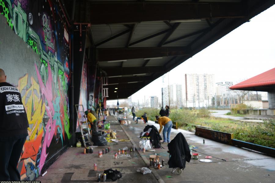 Photo de ODV, FR75, réalisée au Maquis-art Wall of fame - L'aérosol, Paris
