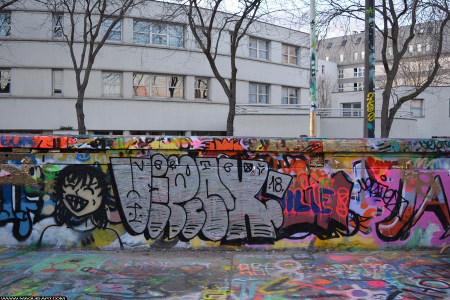 Photo de VERTEX, réalisée au Maquis-art Wall of fame - L'aérosol, Paris