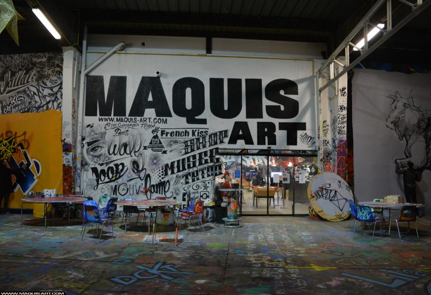 Photo de ???, réalisée au Maquis-art Wall of fame - L'aérosol, Paris