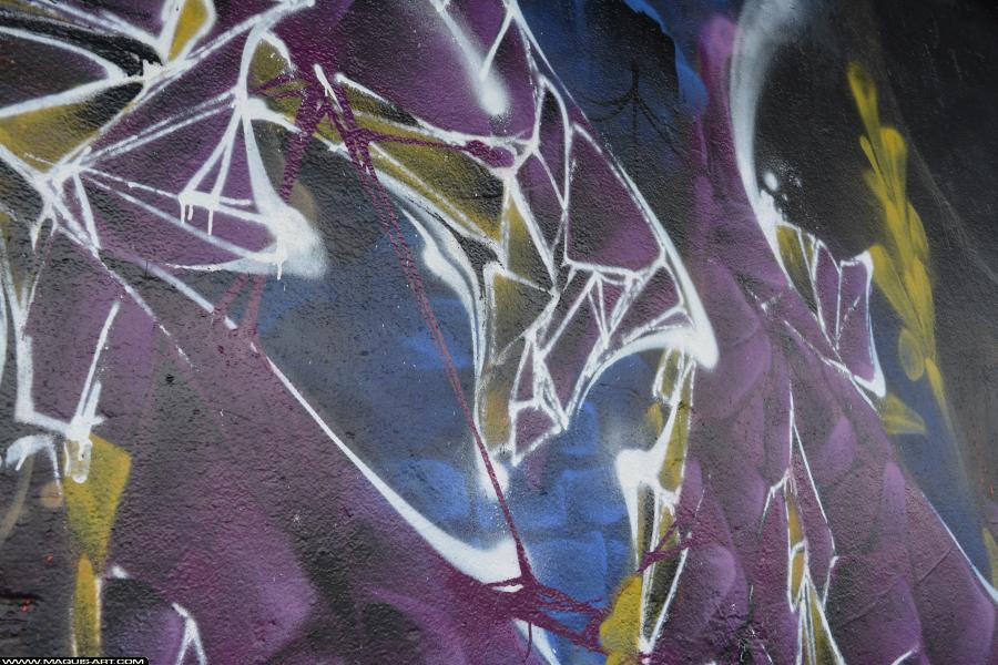 Photo de TOREK, ODV, GH, FR75, TSP, RJK, réalisée au Maquis-art Wall of fame - L'aérosol, Paris