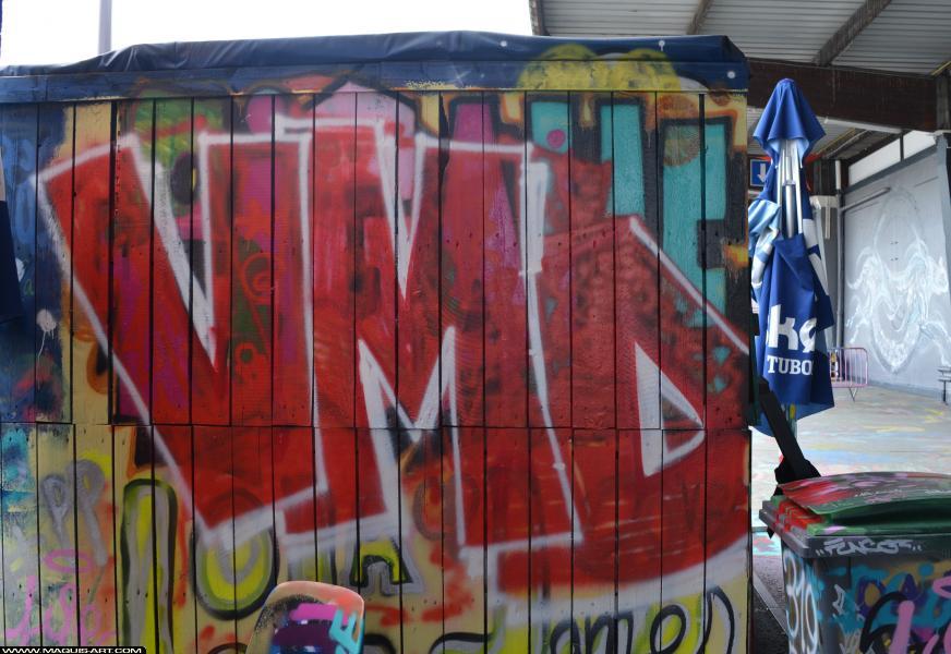 Photo de VMD, réalisée au Maquis-art Wall of fame - L'aérosol, Paris
