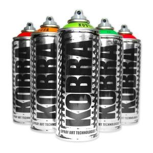 Kobra paint fluorescente 400ml bombe de peinture fluo - Peinture en bombe ...