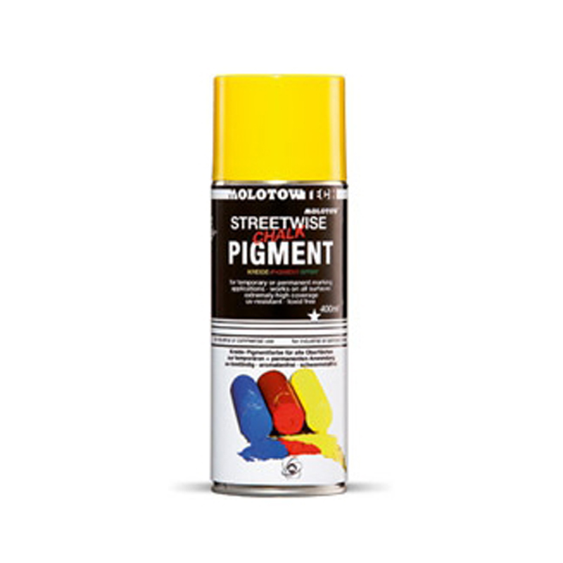 Bombe marquage sol traceurs de chantier fluorecents for Castorama bombe peinture